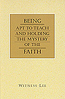 [영문] Being Apt to Teach and Holding The Mystery of The FAITH