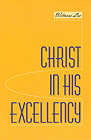 [영문] Christ in His Excellency