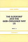 [영문] Elders` Training Book 11-The Eldership and The God-ORDAINED WAY(3)
