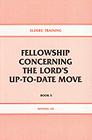 [영문] Elders` Training Book 5-Fellowship Concerning The Lord's up-to-date move