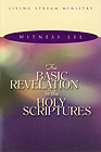 [영문] Basic Revelation in the Holy Scriptures, The